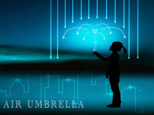 Foto: KICKSTARTER/AIR UMBRELLA