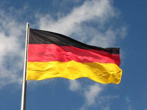 almanya bayrağı