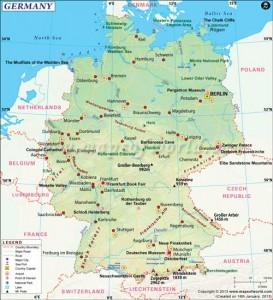 Almanya Haritası