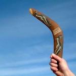 Bumerang nedir, nasıl geri gelir?