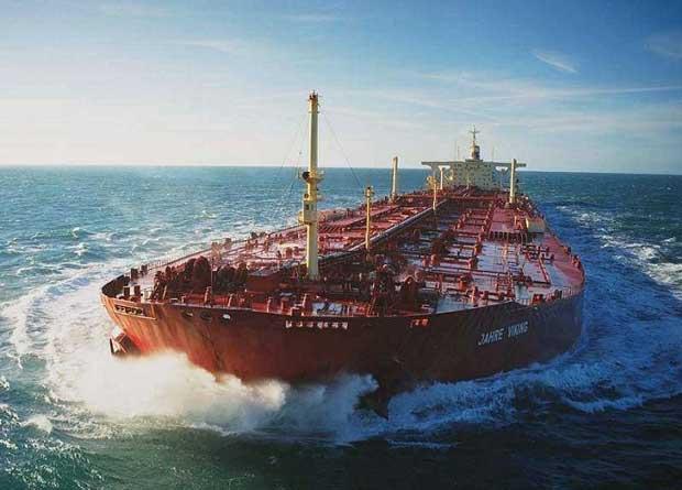 Dünya'nın en büyük gemisi