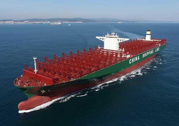 En büyük yük gemisi