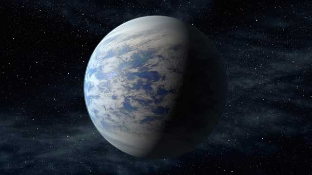 Foto: Kepler 69c / NASA