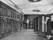 İlk Bilgisayar ENIAC