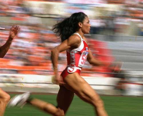 dünyanın en hızlı kadını